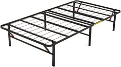 AmazonBasics Platform Bed Frame, Black, Twin