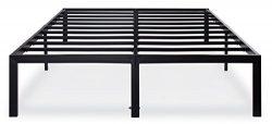 Olee Sleep 14 Inch T-3000 Heavy Duty Steel Slat / Non-slip Support Bed Frame 14BF04F (FULL)