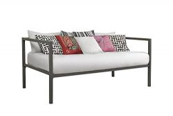 DHP Modern Tribeca Daybed Metal Frame, Twin Size – Grey