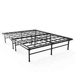 Zinus 14 Inch Elite SmartBase Mattress Foundation / for Big & Tall / Extra Strong Support /  ...