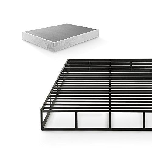 Zinus 9 Inch Quick Lock High Profile Smart Box Spring / Mattress Foundation / Strong Steel Struc ...