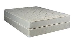 Spinal Solution, Twin Size Assembled Orthopedic Mattress With 5-Inch Box Spring Sensation Collection