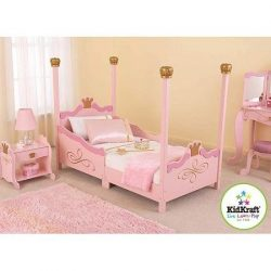 For Girls Princess Toddler Pink Bed. A Cute & Charming Addition to Children's Bedroom  ...