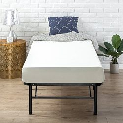 Zinus Memory Foam 6 Inch Green Tea Cot Size / RV Bunk / Guest Bed Replacement / 30″ x 75&# ...