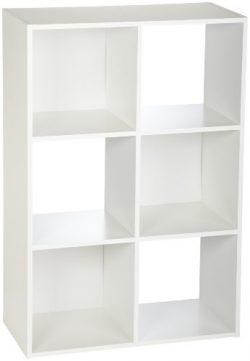 ClosetMaid (8996) Cubeicals Organizer, 6-Cube – White