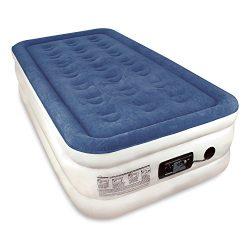 Twin Sized SoundAsleep Dream Series Air Mattress with ComfortCoil Technology & Internal High ...