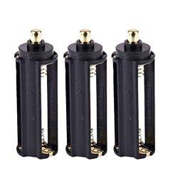 Battery Holder,LandFox 3 x 3 AAA Battery Holder Spring Box For Flashlight Torch