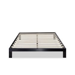 Zinus Modern Studio 10 Inch Platform 2000 Metal Bed Frame / Mattress Foundation / no Boxspring n ...