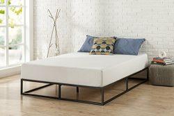 Zinus Modern Studio 10 Inch Platforma Low Profile Bed Frame / Mattress Foundation / Boxspring Op ...