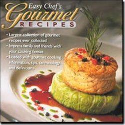 ACR International Easy Chef's Gourmet Recipes for Windows (Catalog Category: Entertainment ...