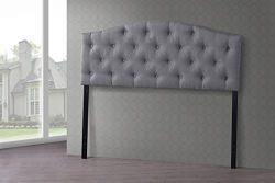 Wholesale Interiors Baxton Studio Myra Modern and Contemporary Fabric Upholstered Button-Tufted  ...