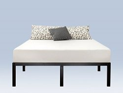 Zinus 14 Inch Classic Metal Platform Bed Frame with Steel Slat Support / Mattress Foundation, Full