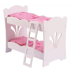 KidKraft Little Doll Bunk Bed