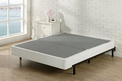 Zinus 7.5 Inch High Profile BiFold Box Spring / Folding Mattress Foundation / Strong Steel struc ...