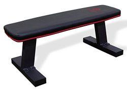 Marcy SB-10510 Deluxe Versatile Flat Bench – Steel Frame