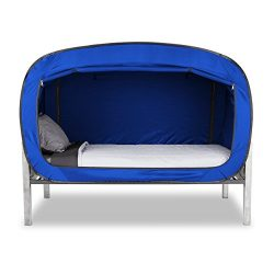 Privacy Pop Bed Tent (Twin Bunk) – BLUE