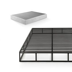 Zinus 9 Inch Quick Lock High Profile Smart Box Spring / Mattress Foundation / Strong Steel Struc ...