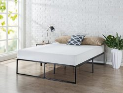 Zinus 14 Inch Platforma Bed Frame / Mattress Foundation / No Box Spring needed / Steel Slat Supp ...