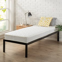 Zinus Hybrid Foam and Spring 6 Inch Mattress, Narrow Twin / Cot Size / RV Bunk / Guest Bed Repla ...