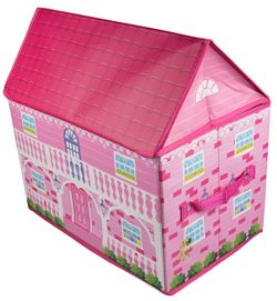 Pink Cottage-Style House Collapsible Toy Storage Organizer by Clever Creations | Sturdy Toy Box  ...