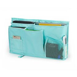 WeiBonD Caddy Hanging Organizer – Large Capacity 8 Pockets Bedside Storage Bag with Velcro Strap ...