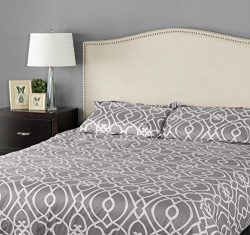 Zinus Upholstered Arched Nailhead Headboard, Full/Queen, Taupe