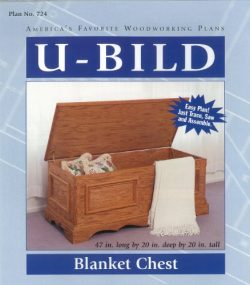 U-Bild 724 Blanket Chest Project Plan