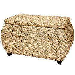 Oriental Furniture Rush Grass Storage Box – Natural
