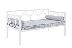 DHP Rebecca Metal Daybed, Twin Size – White