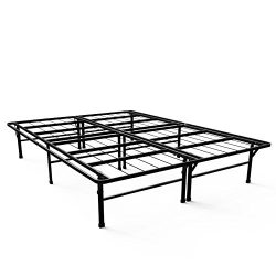 Zinus 14 Inch SmartBase Deluxe / Mattress Foundation / Platform Bed Frame / Box Spring Replaceme ...