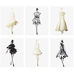 Fashion Sketches Print Set