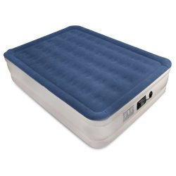 SoundAsleep Dream Series Air Mattress with ComfortCoil Technology & Internal High Capacity P ...