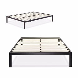Zinus Modern Studio 14 Inch Platform 3000 Metal Bed Frame / Mattress Foundation / no Boxspring n ...