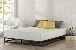 Zinus Modern Studio 6 Inch Platforma Low Profile Bed Frame / Mattress Foundation / Boxspring Opt ...