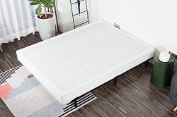 Noah Megatron 7 Inch Easy Assembly Required Box Spring, Strong Steel Structure Mattress Foundati ...