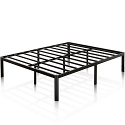 Zinus 16 Inch Metal Platform Bed Frame with Steel Slat Support / Mattress Foundation, King