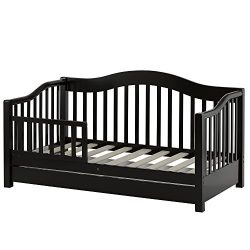 Dream On Me Toddler Day Bed, Black
