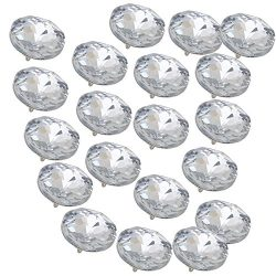 Sofa Headboard Upholstery Crystal Buttons Soft Package Furniture decorative Accessories Pack of  ...