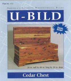 U-Bild 572 Cedar Chest Project Plan