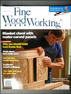 Fine Woodworking February 2011 Blanket Chest, Build Face-frame First, Divided-light Doors, Exoti ...