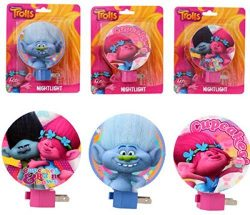Dreamworks Trolls Night Light – Set of 3