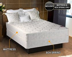 Legacy Gentle Firm Full Size (54″x75″x8″) Mattress and Box Spring Set –  ...
