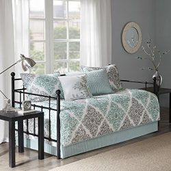Claire 6 Piece Daybed Set Aqua Daybed