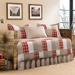 Eddie Bauer Camano Island 5-Piece Patchwork Quilted Cotton Daybed Cover Set