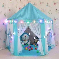 e-Joy Kids Indoor/Outdoor Tent Fairy Princess Castle Tent, Portable Fun Perfect Hexagon Large Pl ...