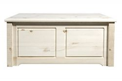Montana Woodworks MWHCSBCSV Homestead Collection Small Blanket Chest, Clear Lacquer Finish