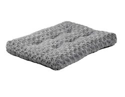 MidWest Quiet Time Pet Bed Deluxe Gray Ombre Swirl 21″ x 12″