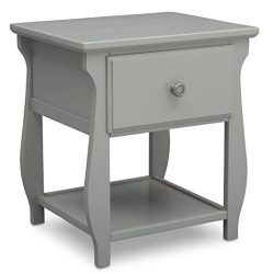 Delta Children Lancaster Nightstand, Grey
