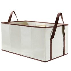 Lifewit Toy Chest Baskets Storage Bins Dividers Organizer for Kid's Toys, Blankets, Clothes, Beige