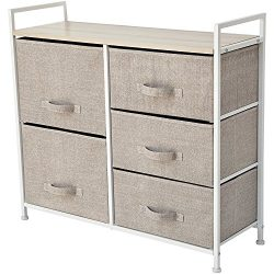 Storage Cube Dresser – Organize your Nursery, Bedroom, or Play Room with this Fabric Bin Storage ...
